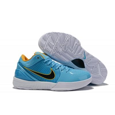 Nike Kobe 4 Protro Blue White Black Shoes