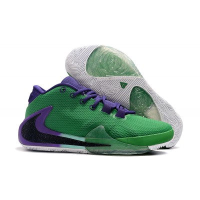 2019 Nike Zoom Freak 1 Green Purple Shoes
