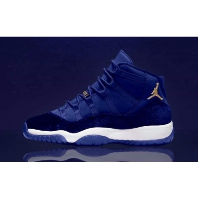 Air Jordan 11 Blue Velvet Shoes