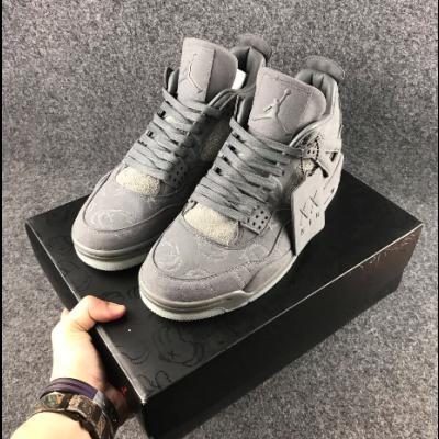 KAWS x Air Jordan 4 Cool Grey Shoes