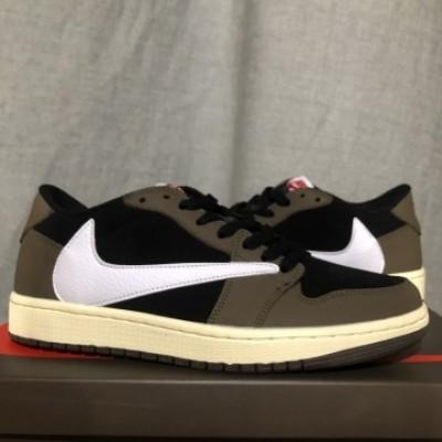 Air jordan 1 Travis Scott Olive Low Shoes