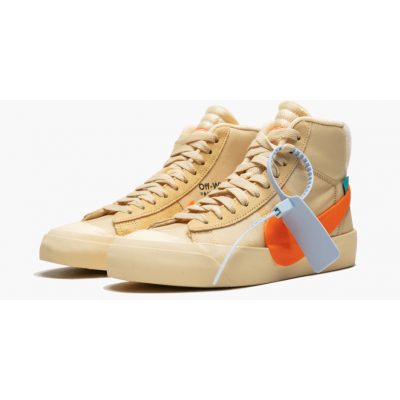 "Off-White x Nike Blazer ""All Hallows Eve"" Shoes"