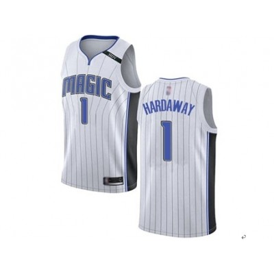 NBA Orlando Magic 1 Penny Hardaway White Nike Men Jersey