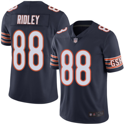 Nike Bears 88 Riley Ridley Navy Vapor Untouchable Limited Men Jersey