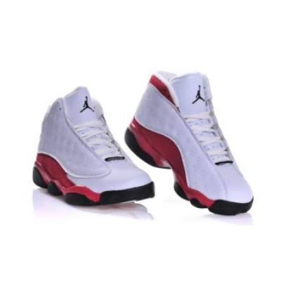 Nike Air Jordan XIII Retro 13 Cherry Chicago White Red Shoes