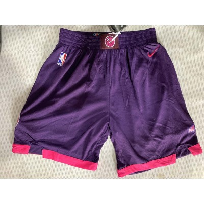 NBA Timberwolves Purple City Edition Nike Swingman Shorts