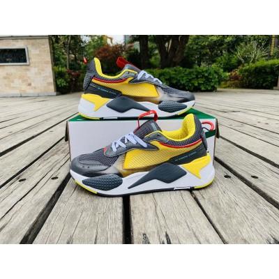 Puma Cool Grey Yellow Shoes