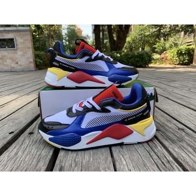 Puma Black Royal Blue Shoes