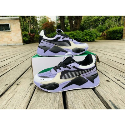 Puma Black Purple White Shoes