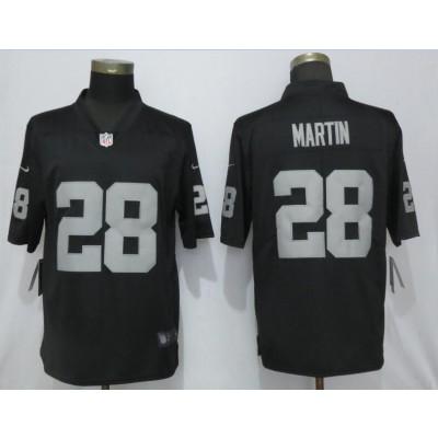 Nike Raiders 28 Doug Martin Black Vapor Untouchable Limited Men Jersey