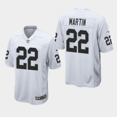 Nike Raiders 22 Doug Martin White Elite Men Jersey