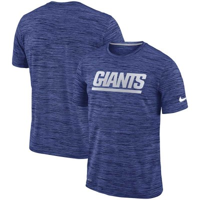 Nike New York Giants Royal Velocity Performance T-Shirt