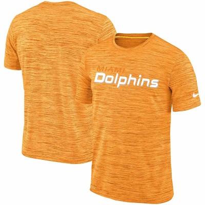 Nike Miami Dolphins Orange Velocity Performance T-Shirt