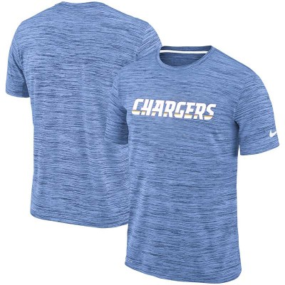 Nike Los Angeles Chargers Blue Velocity Performance T-Shirt