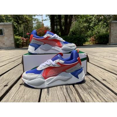 Puma Red Blue Grey Shoes