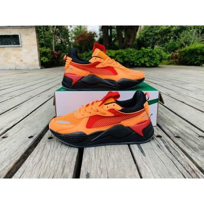 Puma Orange Red Black Shoes