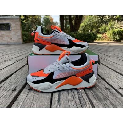 Puma Orange Black Shoes