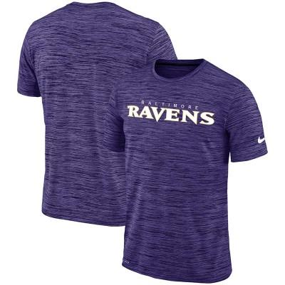 Nike Baltimore Ravens Purple Velocity Performance T-Shirt