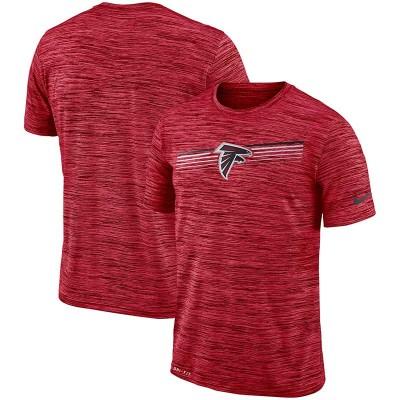 Nike Atlanta Falcons Sideline Velocity Performance T-Shirt Heathered Red