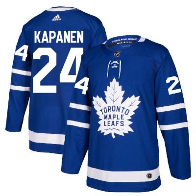 NHL Maple Leafs 24 Kasperi Kapanen Blue Adidas Men Jersey