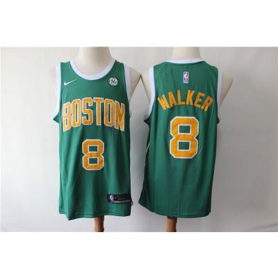 NBA Celtics 8 Kemba Walker Green Earned Edition Nike Men Jersey