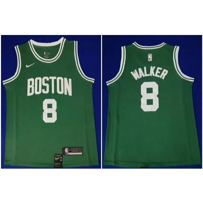 NBA Boston Celtics 8 Kemba Walker Green Nike Men Jersey