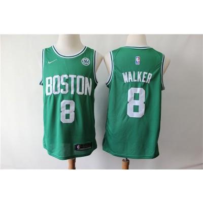 NBA Boston Celtics 8 Kemba Walker Green Nike Men Jersey With Logo