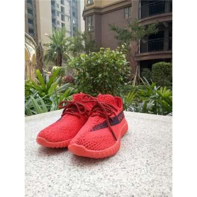 Adidas Yeezy 350 Boost Red Kids Shoes