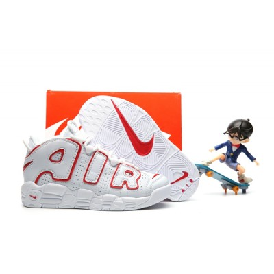 Nike Air More Uptempo Chaussures White Kids Shoes