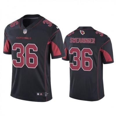 Arizona Cardinals 36 D.J. Swearinger Black Red Vapor Untouchable Limited Men Jersey