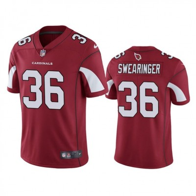 Arizona Cardinals 36 D.J. Swearinger Red Vapor Untouchable Limited Men Jersey