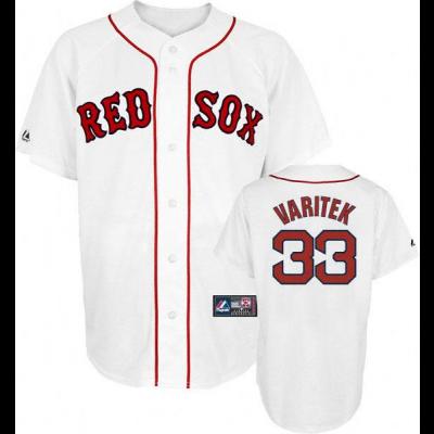 MLB Boston Red Sox 33 Jason Varitek White Cool Base Men Jersey