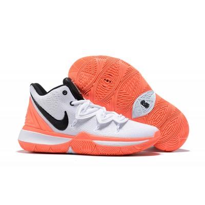 Nike Kyrie 5 White Orange Shoes