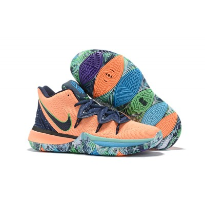 Nike Kyrie 5 Orange Blue Shoes