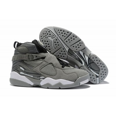 Air Jordan 8 Wolf Grey Shoes