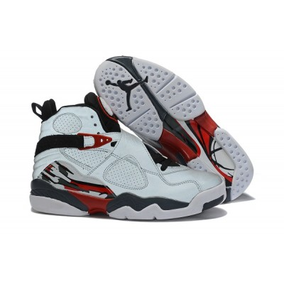 Air Jordan 8 Grey Red Shoes
