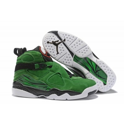 Air Jordan 8 Green White Shoes