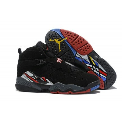 Air Jordan 8 All BlacK Shoes