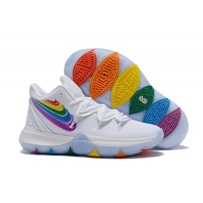 Nike Kyrie Irving 5 PE White Corlorful Shoes