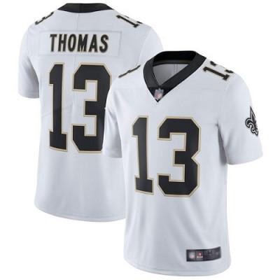 Nike New Orleans Saints 13 Michael Thomas Vapor Untouchable Limited White Youth Jersey