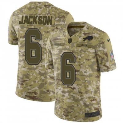 Nike Buffalo Bills 6 Tyree Jackson Camo 2018 Salute to Service Limited  Men Jersey