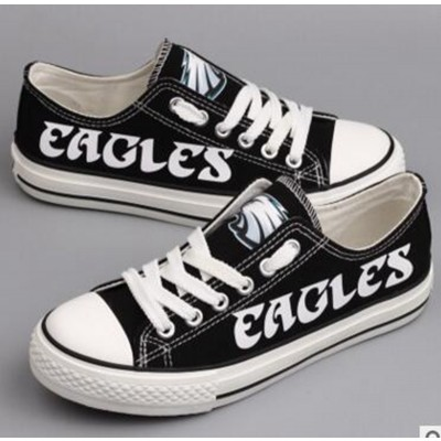 NFL Philadelphia Eagles Repeat Print Low Top Sneakers