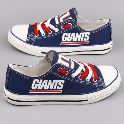 NFL New York Giants Repeat Print Low Top Sneakers 005