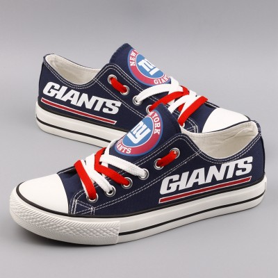NFL New York Giants Repeat Print Low Top Sneakers 003