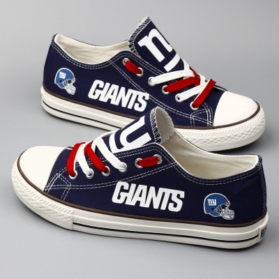 NFL New York Giants Repeat Print Low Top Sneakers 002
