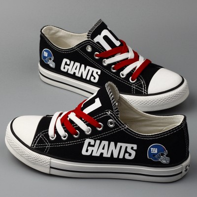 NFL New York Giants Repeat Print Low Top Sneakers