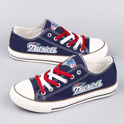 NFL New England Patriots Repeat Print Low Top Sneakers