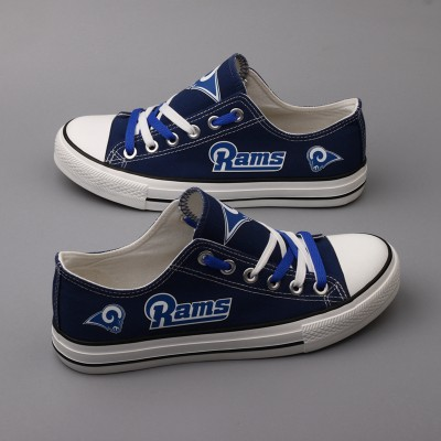 NFL Los Angeles Rams Repeat Print Low Top Sneakers