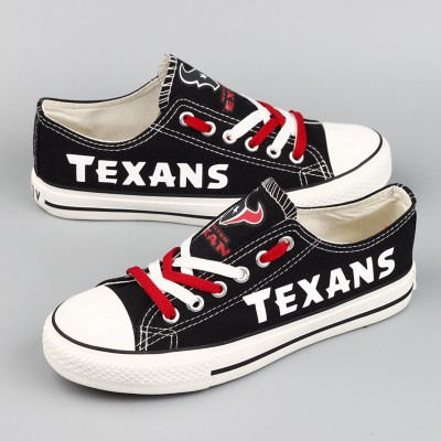 NFL Houston Texans Repeat Print Low Top Sneakers