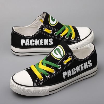 NFL Green Bay Packers Repeat Print Low Top Sneakers 004